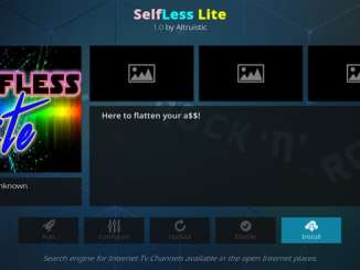 Selfless Lite Addon Guide - Kodi Reviews