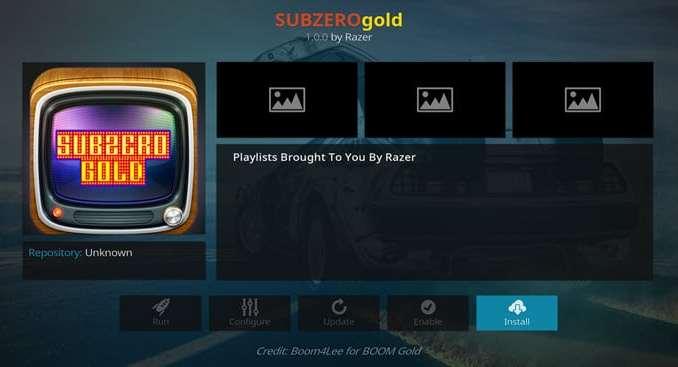 Suzero Gold Addon Guide - Kodi Reviews