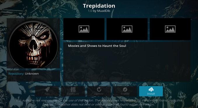 Trepidation Addon Guide - Kodi Reviews