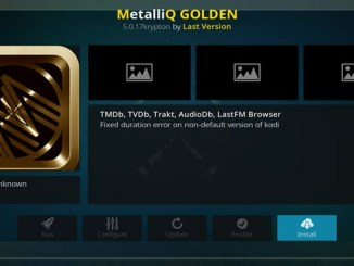MetalliQ Golden Addon Guide - Kodi Reviews
