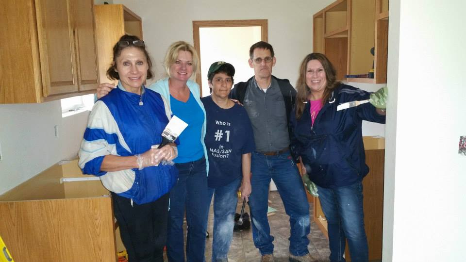 Omaha Habitat for Humanity Volunteer, NP Dodge Real Estate, Angela May, Husker Home Finders