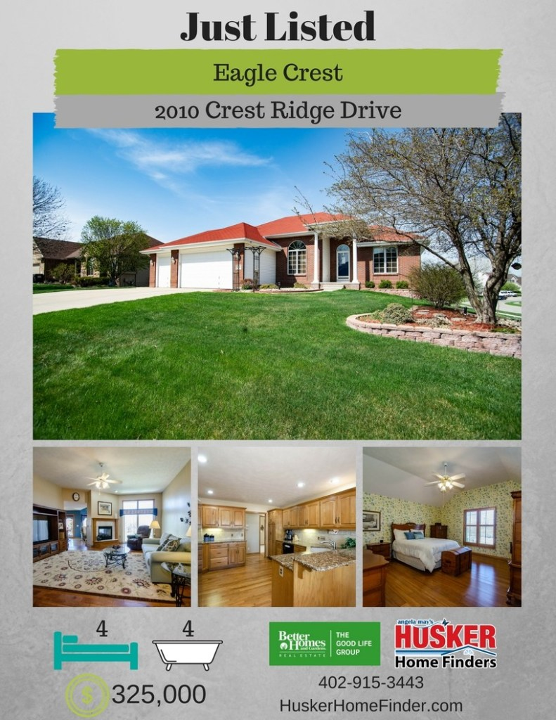 Just Listed! 2010 Crest Ridge Drive