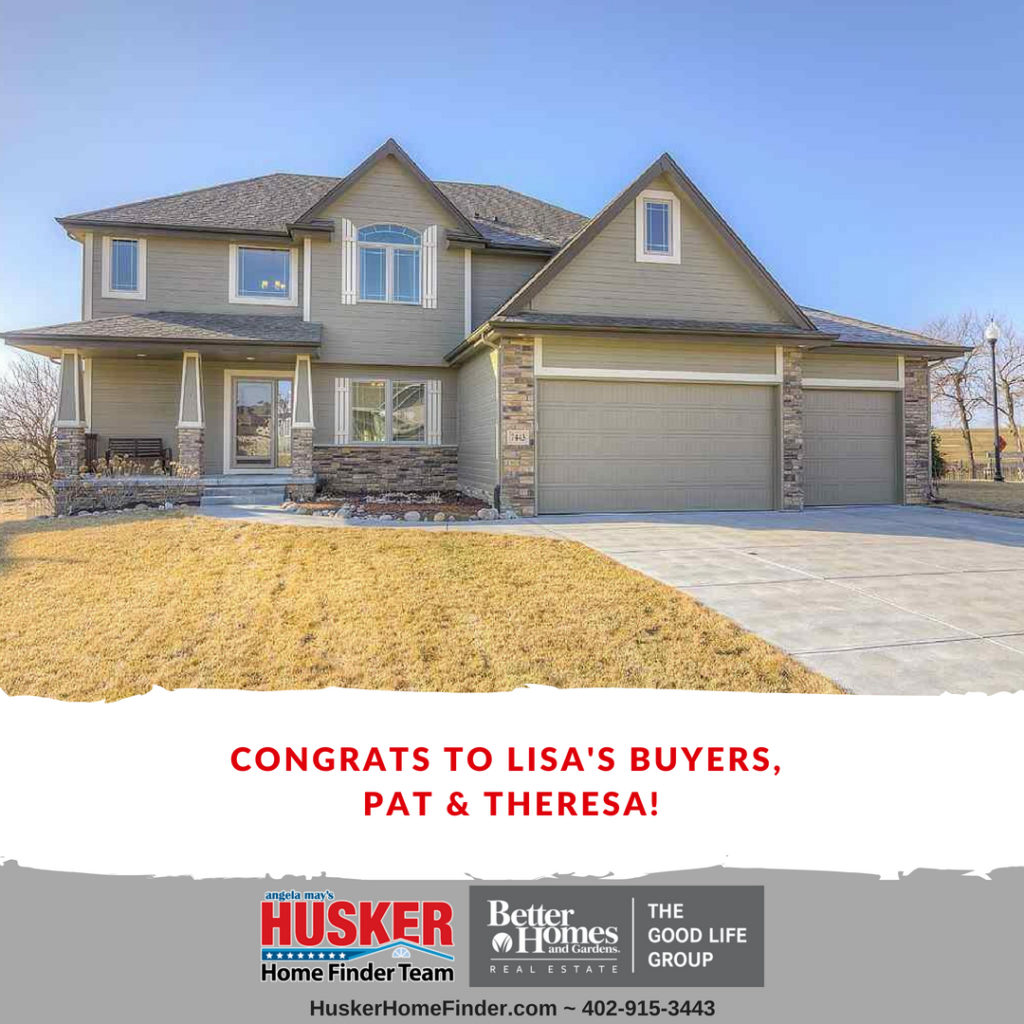 Sold Congratulations To Lisa S Buyers Pat And Theresa On There Beautiful Papillion Home