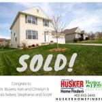 Sold Husker Home Finder Team Key and Sterling