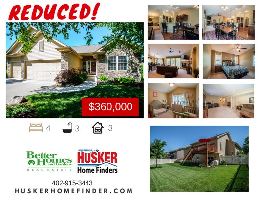 Reduced - 10017 Olive St Husker Home Finder