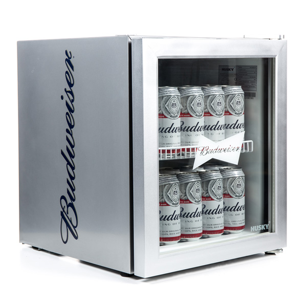 Silver Budweiser Drinks Cooler