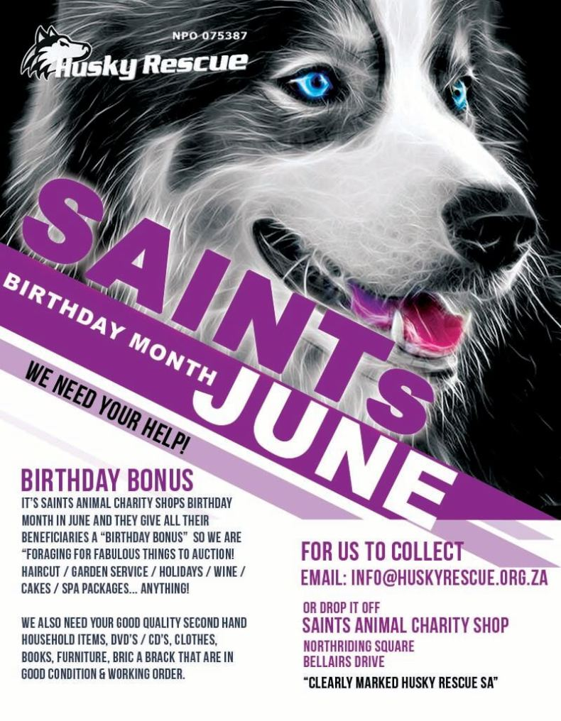 SAINTs Animal Charity