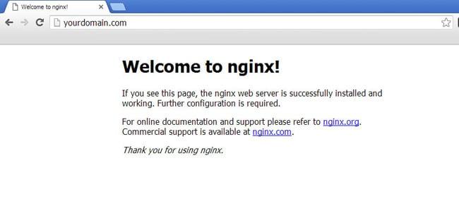 Install Nginx Web Server