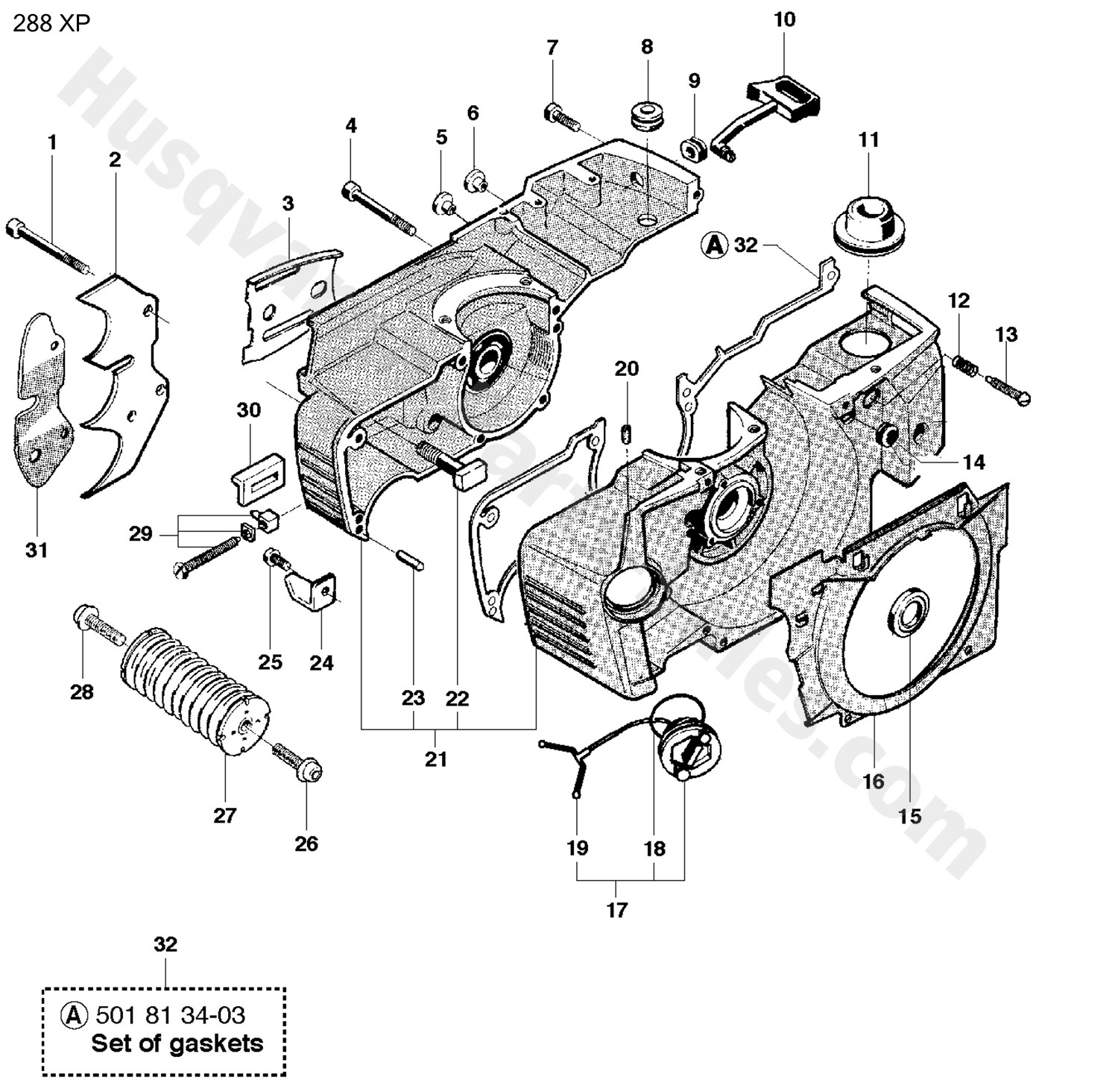 Sears Chainsaw Parts Diagram