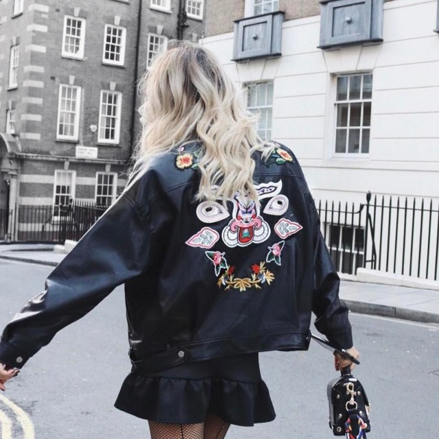 Rock chic vibes xcarms in prettylittlething at London Fashion Weekhellip