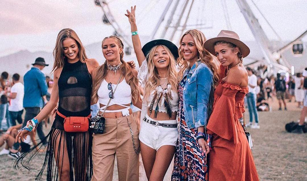The 50 Best Blogger Fashion Looks From Coachella Husskie