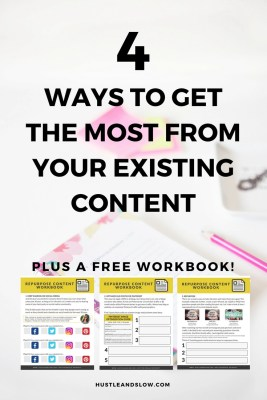 Use existing content for new posts