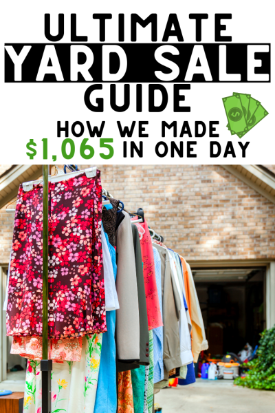 Yard Sale Tips | How we made $1065 selling our stuff
