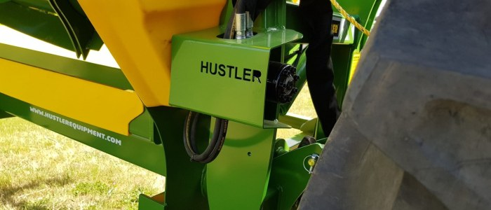 round bale feeder protected motor