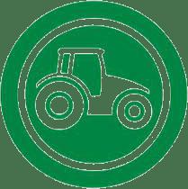 Trade Farm Machinery Logo