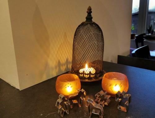Ljus till adventfirande