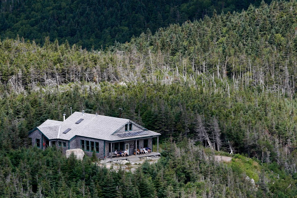 Galehead hut, Appalachian Mountain Club Huts Photos, hut2hut