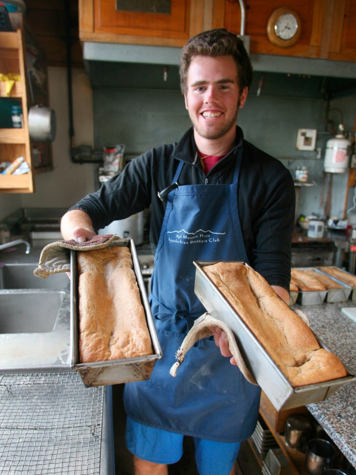 Madison Hut bread, Appalachian Mountain Club Huts Photos, hut2hut