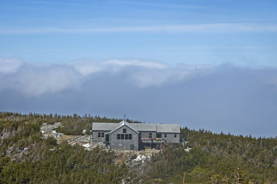 View of Green leaf, Appalachian Mountain Club Huts Photos, hut2hut