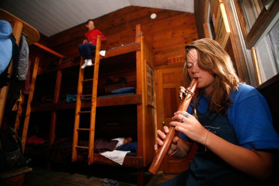 Wake up song, Appalachian Mountain Club Huts Photos, hut2hut
