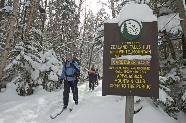 Zealand skiing, Appalachian Mountain Club Huts Photos, hut2hut