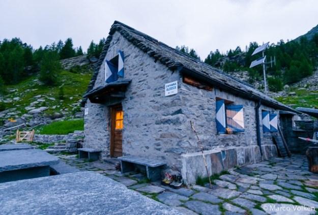 Alzasca Hut, Swiss Alpine Club, hut2hut