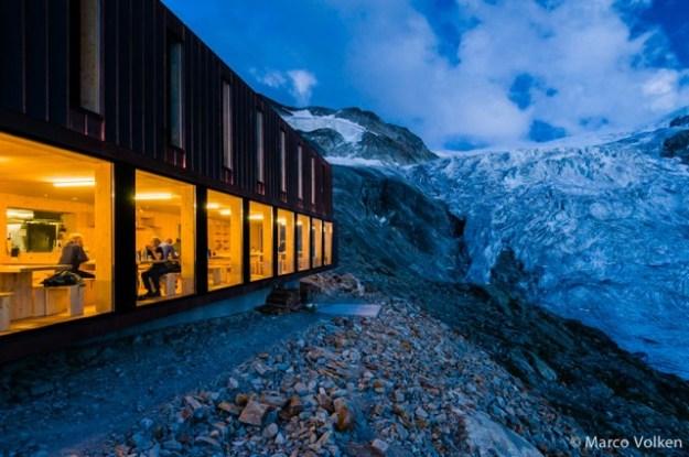 Moiry Hut, Swiss Alpine Club, hut2hut