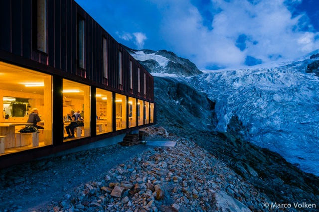 Moiry Hut, Swiss Alpine Club, hut2hut
