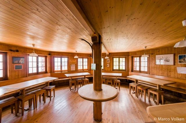 Salbit Hut, Swiss Alpine Club, hut2hut