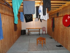Drying room, Den Norske Turistforening (DNT) at Rondvassbu Hut, hut2hut operational profile