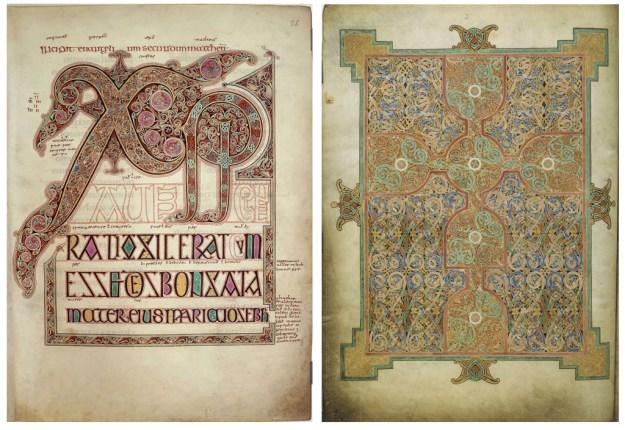 By Eadfrith (Lindisfarne Gospels, c 700 AD) [Public domain], via Wikimedia Commons