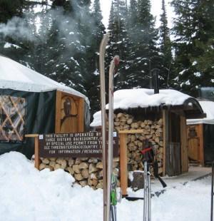 TSBC SnoPark Office, Three Sisters Backcountry Huts, Operational Profile hut2hut
