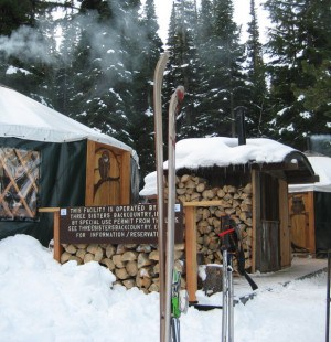 TSBC SnoPark Office, Three Sisters Backcountry Huts, Operational Profile hut2hut