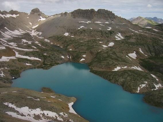 Nearby Lake, OPUS Huts, hut2hut