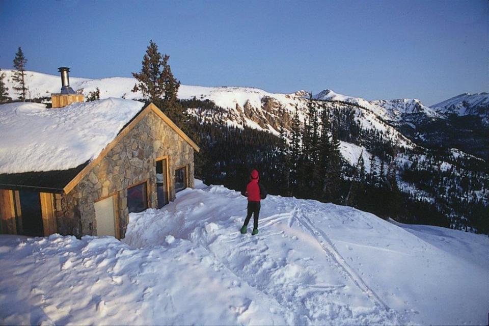 Skinner Hut, 10th Mountain Division Huts, hut2hut