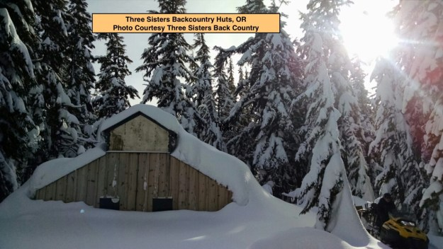 Three Sisters Backcountry Huts, OR, Operational Profile hut2hut