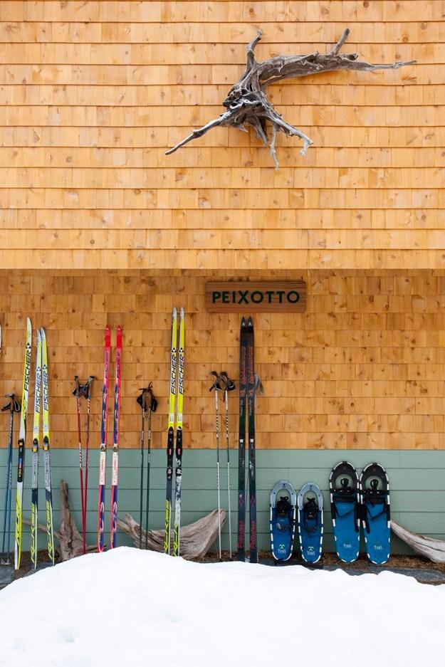 Flagstaff Hut Bunk House, Maine Huts & Trails, hut2hut