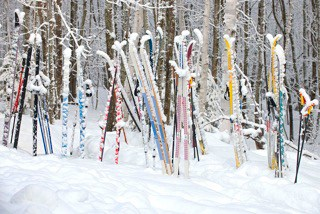 Snowy Skis, Maine Huts & Trails, hut2hut