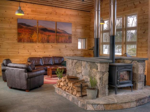 Stratton Brook Wood Stoves, Maine Huts & Trails, hut2hut