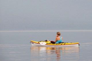 Practicing Loon Calls, Maine Huts & Trails, hut2hut