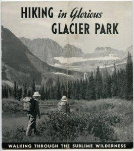 Glacier National Park backcountry chalets