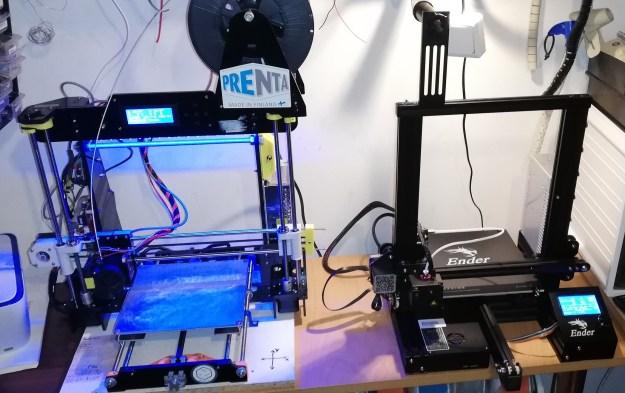 3D-printterit