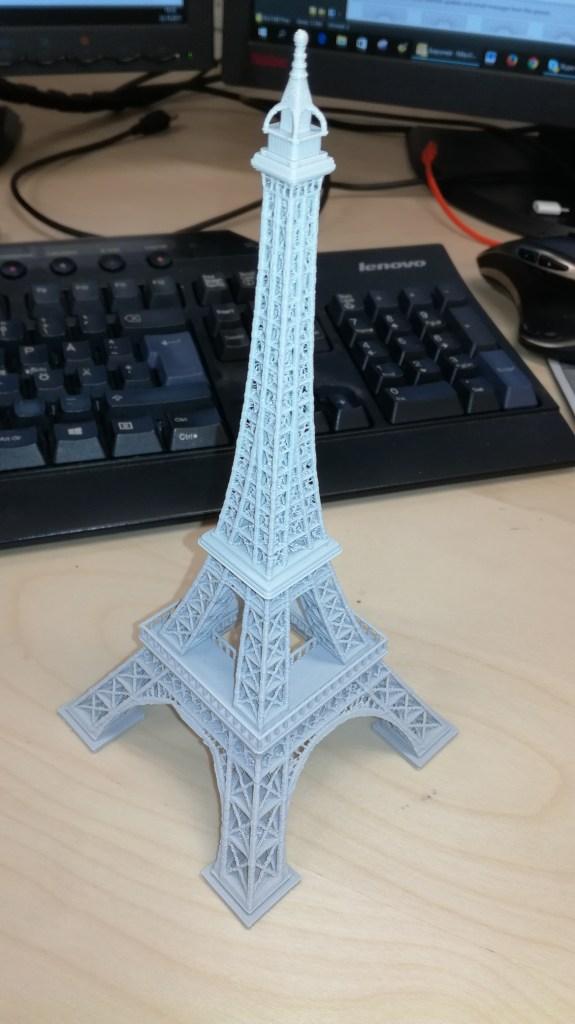 Printattu Eiffel torni
