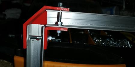 Kulmapala 3D-printattu