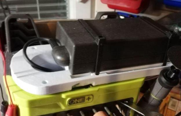 Ryobi akun adapteri 3d-tulostettuna