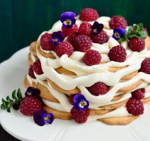 5 Ingredient Summer Ice Box Cake