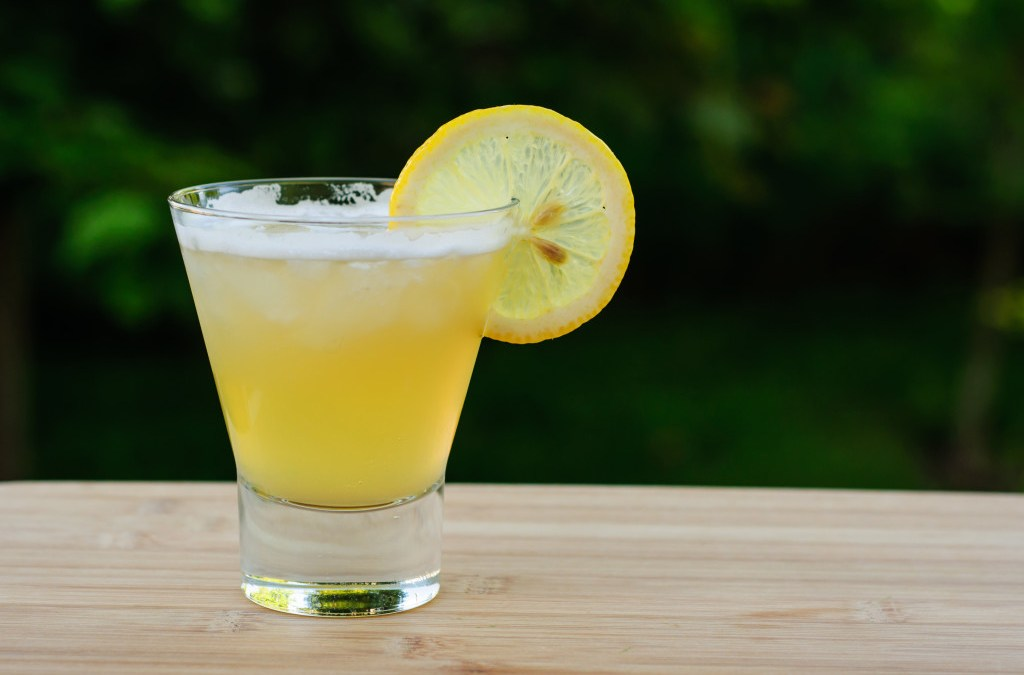 Ginger Maple Fizz
