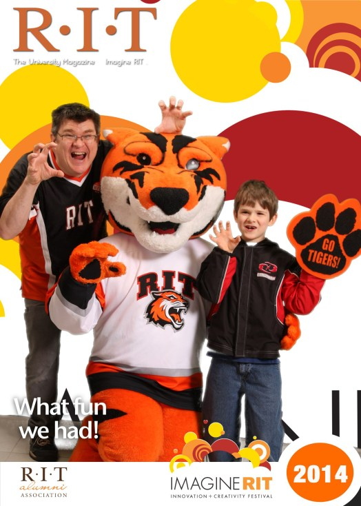 with my Son Oliver at an RIT Photo Station (we'll run up to 800 people through and deliver their photos online in minutes)