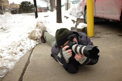 anything to get the shot— winter in Rochester NY