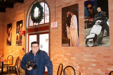 with the display of my work at Geva Theater in NY